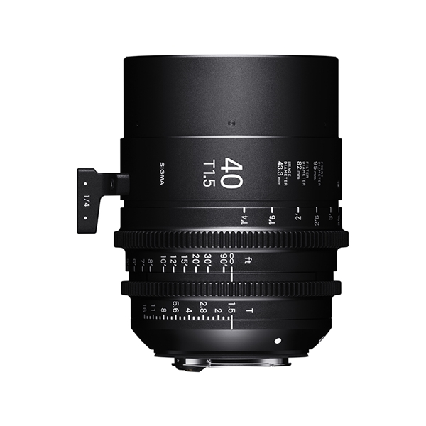 40mm T1.5 FF / CANON EF mount