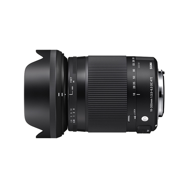 18-300mm F3.5-6.3 DC MACRO OS HSM | Contemporary / SIGMA SA mount