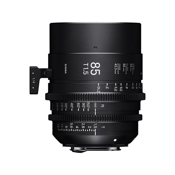85mm T1.5 FF / CANON EF mount (METRIC)
