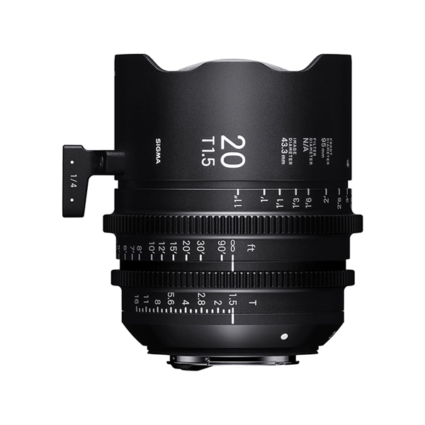 20mm T1.5 FF FL / Sony E-mount (METRIC)