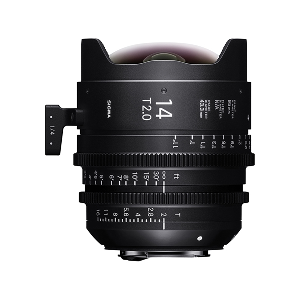 14mm T2 FF FL / CANON EF mount (METRIC)